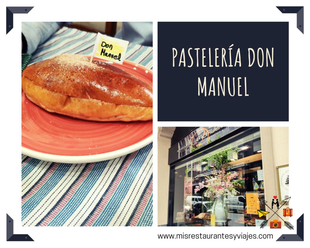 Pastelería Don Manuel. Bollo de mantequilla.