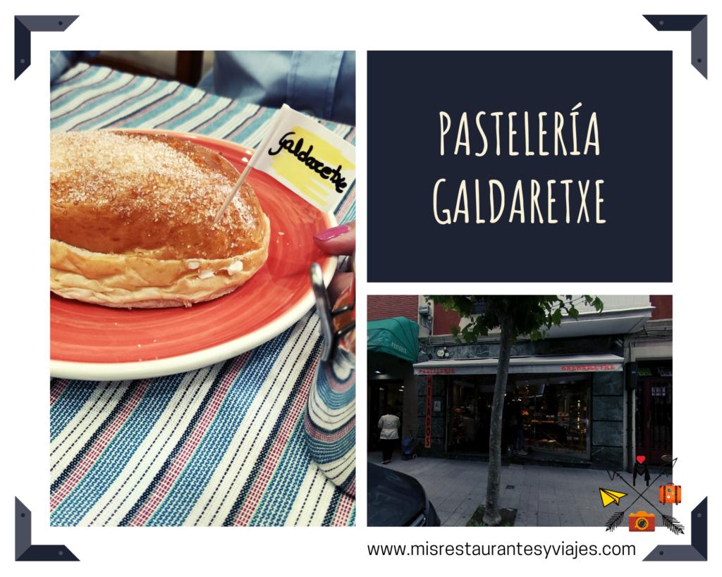 Pastelería Galdaretxe. Bollo de mantequilla.