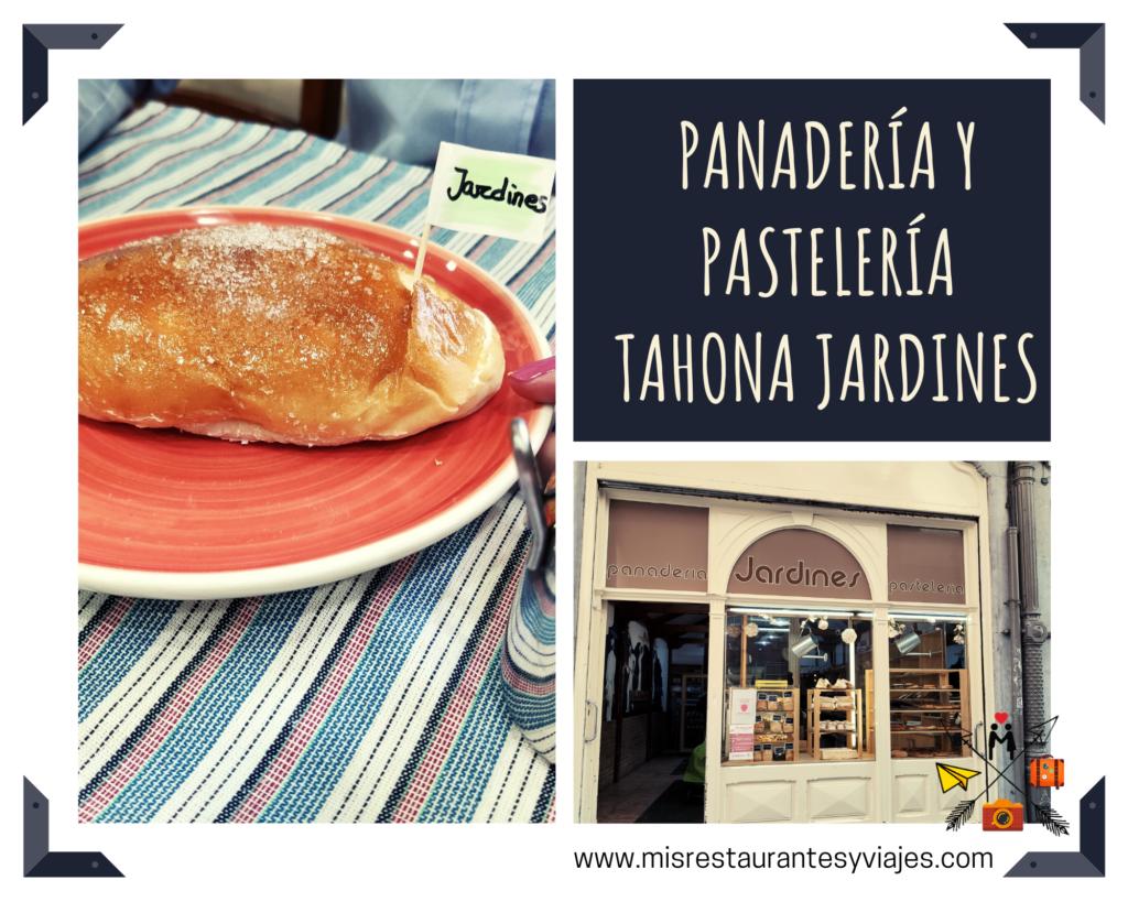 Panadería y pastelería Tahona Jardines. Bollo de mantequilla.