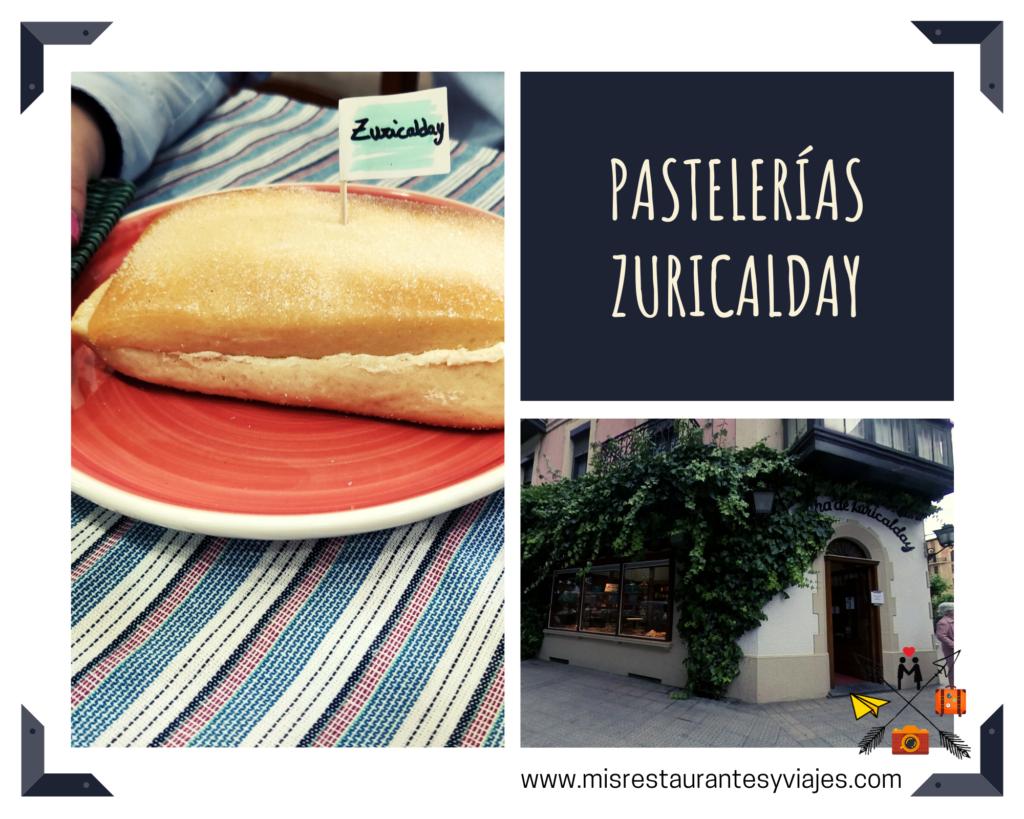 Pastelerías Zuricalday. Bollo de mantequilla.