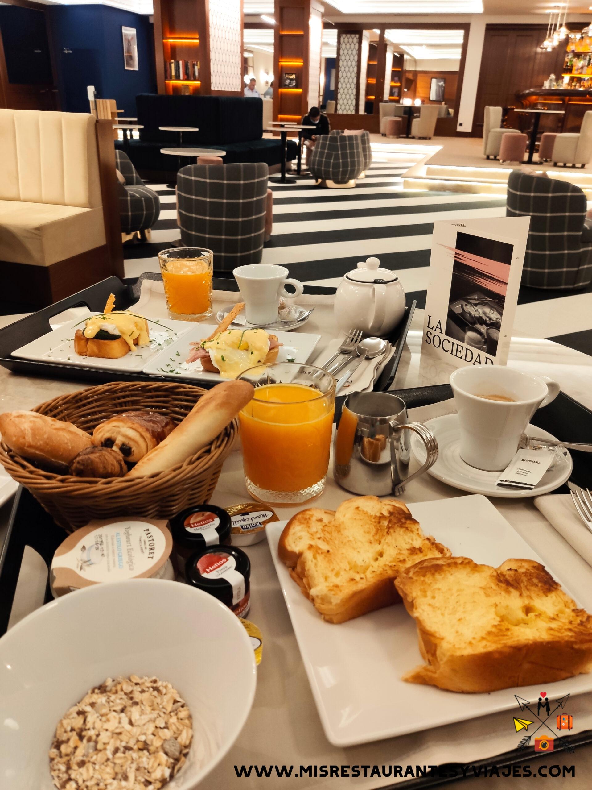 brunch hotel ercilla Bilbao